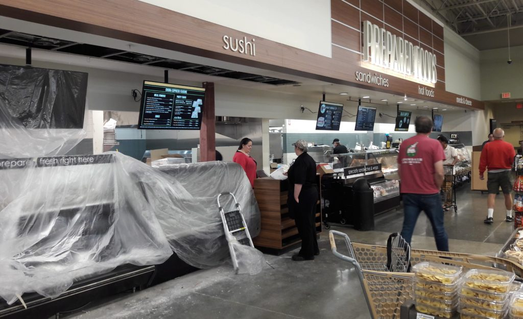 Grand re-opening of Safeway store in former MLT Albertsons