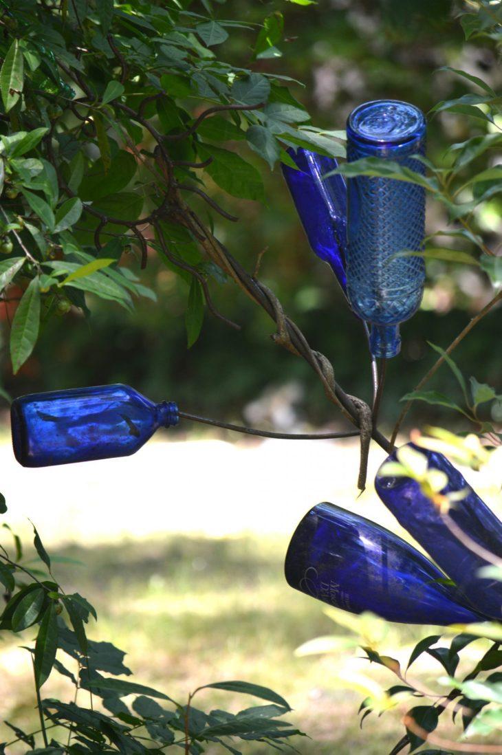 Blue Bottle Tree