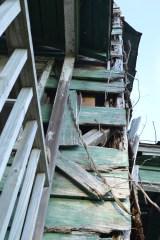 Falling Clapboard