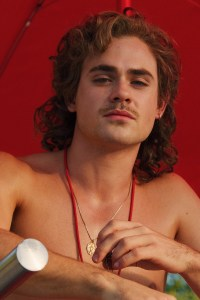 Dacre Montgomery as Billy Hargrove.