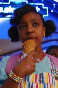 Priah Ferguson as Erica Sinclair.
