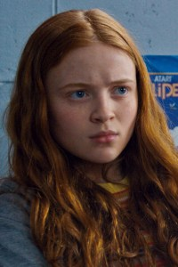 Sadie Sink as Max Mayfield.