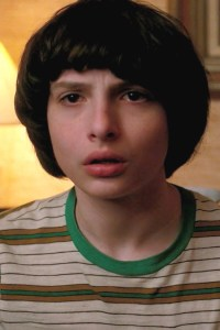 Finn Wolfhard as Mike Wheeler.
