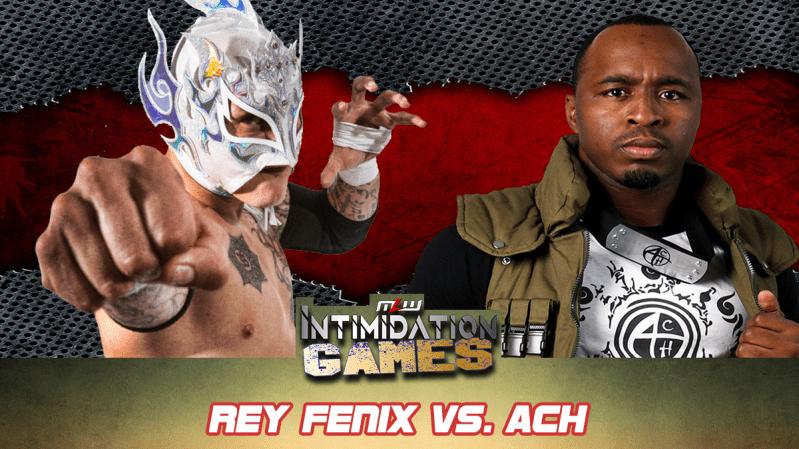 Rey Fenix vs ACH