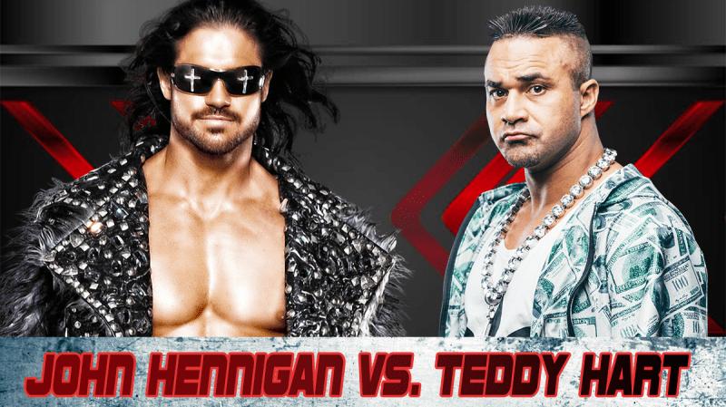 Hennigan vs. Teddy Hart