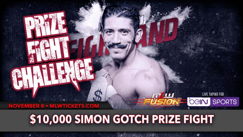 Simon Gotch Prize Fight