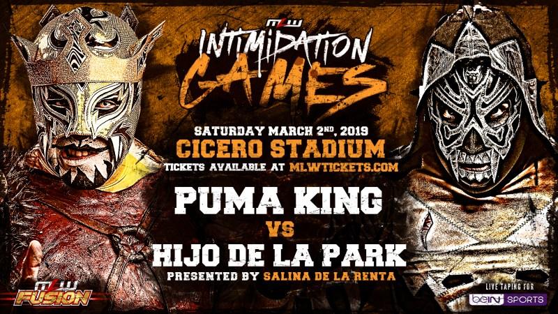 Puma King vs. Hijo de LA Park