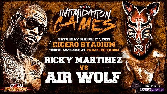 Ricky Martinez vs. Air Wolf