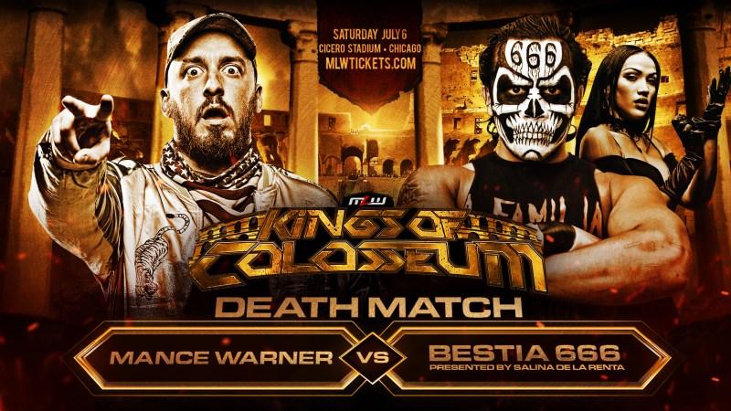 Mance Warner vs. Bestia 666