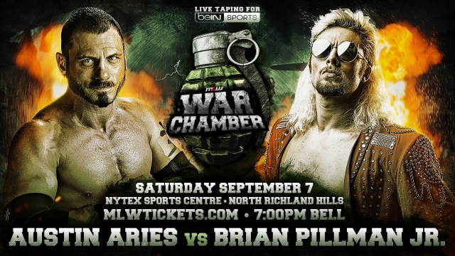 Austin Aries vs Brian Pillman Jr.