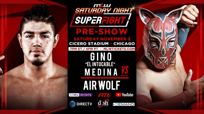 """AirWolf vs. Gino """"El Intocable"""" Medina"""