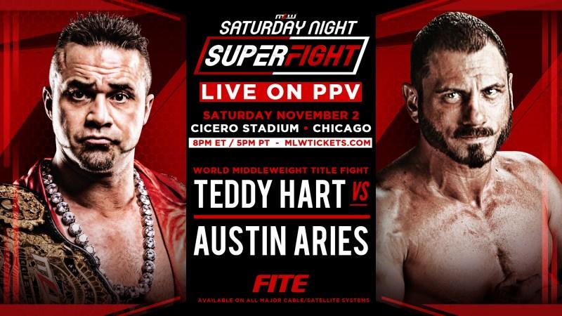 Teddy Hart vs. Austin Aries