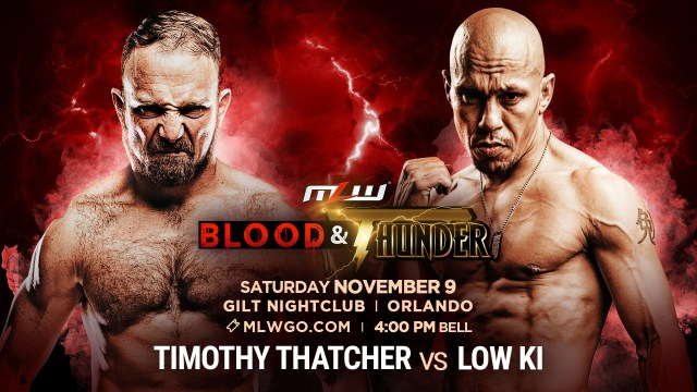 Timothy Thatcher vs. Low Ki