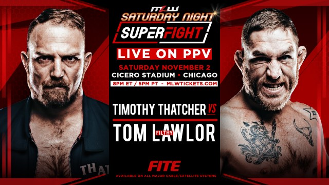 Timothy Thatcher vs. Tom Lawlor