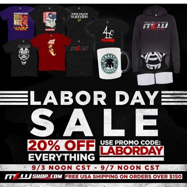 20% off at MLWShop.com