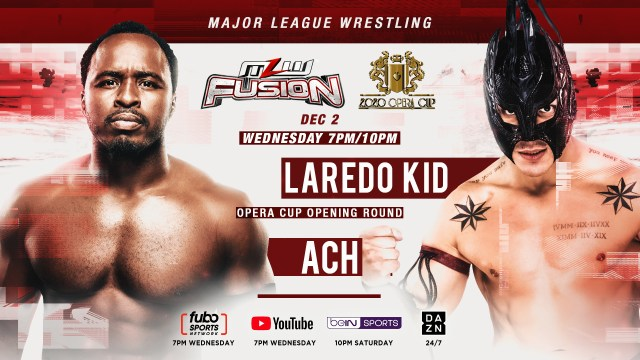 AAA's Laredo Kid vs. ACH set for Wednesday