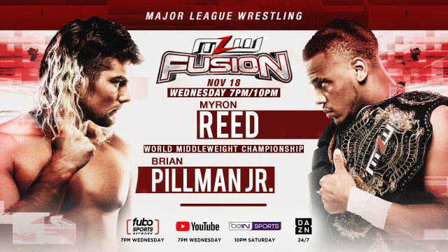 Pillman vs Reed title bout set for Nov. 18