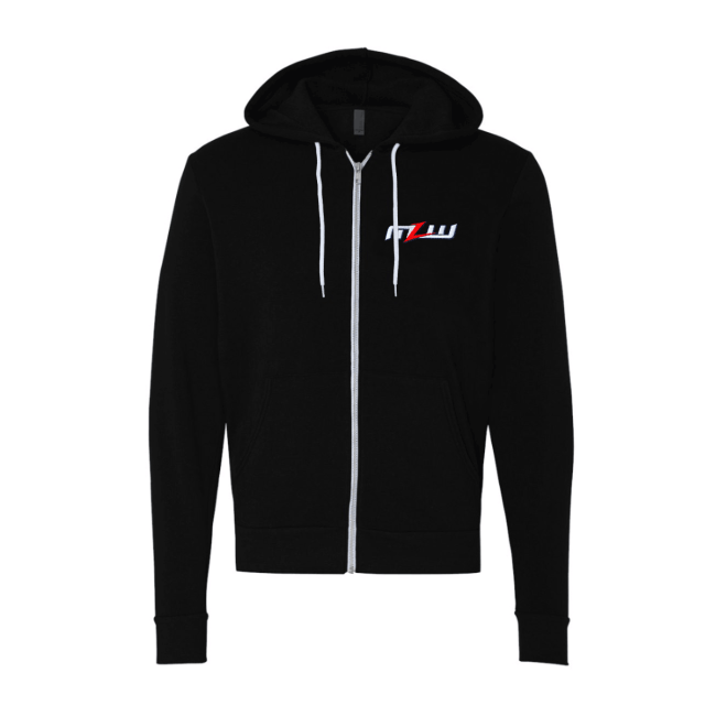 NEW! MLW Zip-up Hoodie