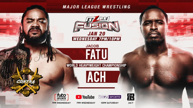 ACH vs. Fatu for World Title this Wednesday