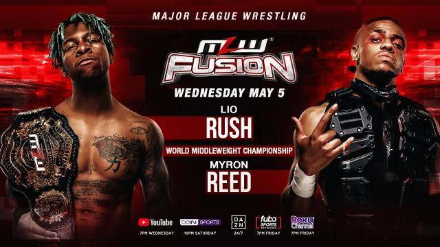 Rush/Reed 2 to main event FUSION