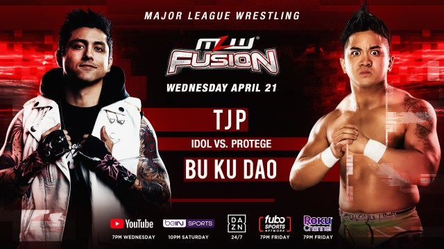 TJP vs. Bu Ku Dao signed for FUSION