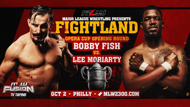 Bobby Fish vs. Lee Moriarty at FIGHTLAND