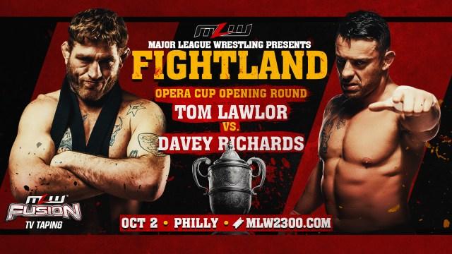Davey Richards vs. Tom Lawlor set for FIGHTLAND
