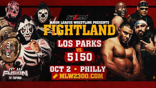 TRIOS Match! Los Parks vs 5150 this Saturday