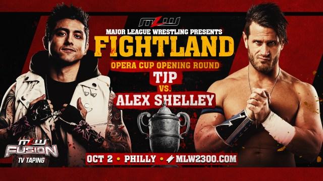Alex Shelley vs TJP Philly fight signed