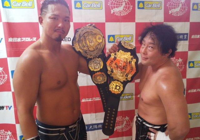 Triple Crown Champ & MLW Champ meet