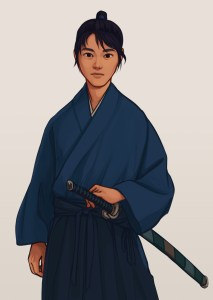 Mamoru (The Sword of Kaigen) by Taratjah
