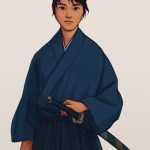 Mamoru (The Sword of Kaigen) by Taratjah