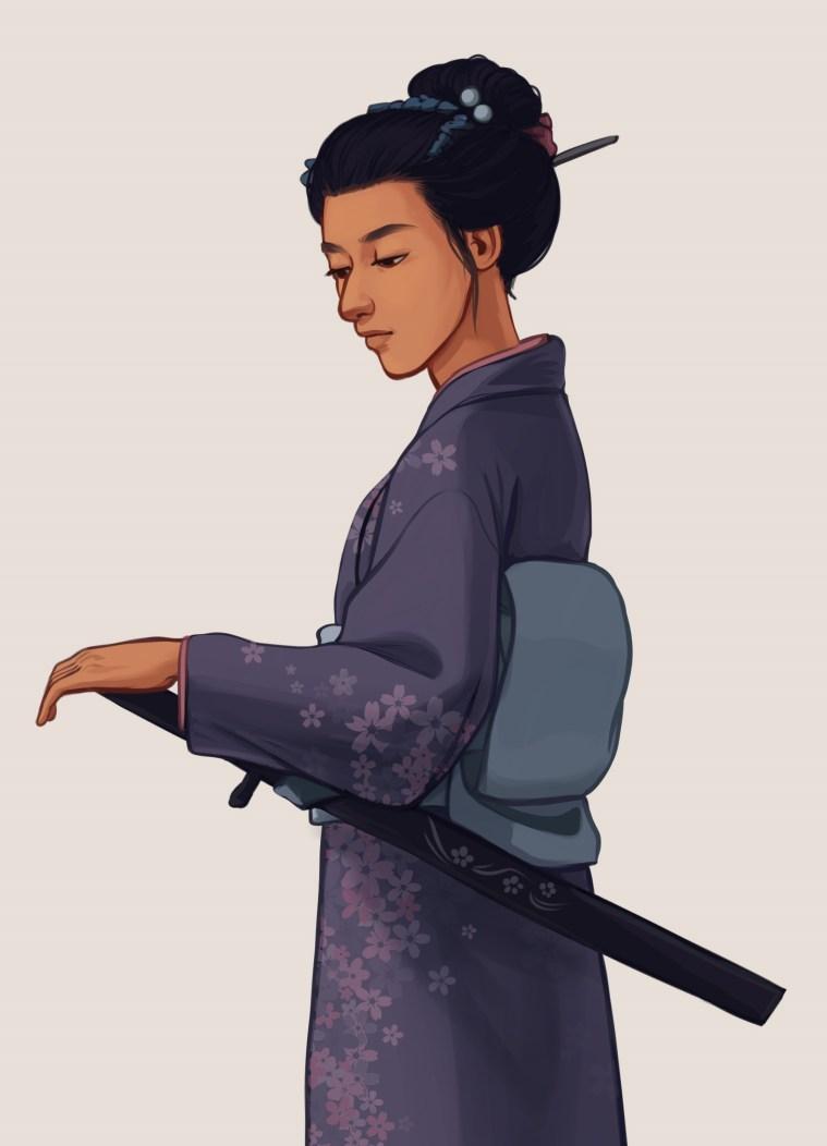 Misaki (The Sword of Kaigen) by Taratjah