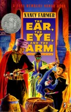 The Ear the Eye and the Arm by Nancy Farmer cover for African SFF list (YA sci-fi book)