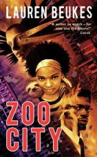 Zoo City by Lauren Beukes cover for African SFF list (urban fantasy book)