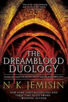 The Dreamblood Duology by N.K. Jemisin cover for African SFF list (epic fantasy book)