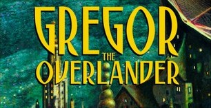 Gregor the Overlander by Suzanne Collins Book Cover title
