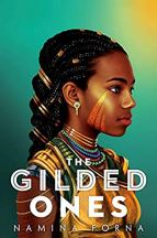 The Gilded Ones by Namina Forna cover for African SFF List (YA fantasy book)