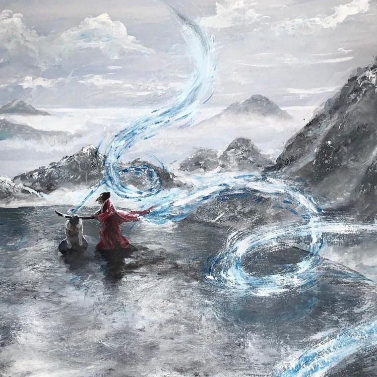 The Sword of Kaigen Art by Arielle Werthaim