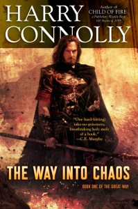 The Way into Chaos by Harry Connolly (apocalyptic epic fantasy) cover for SPFBO Finalist Sale