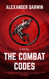 The Combat Codes by Alexander Darwin (sci-fi martial arts) cover for SPFBO Finalist Sale