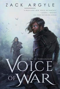Voice of War by Zack Argyle (epic fantasy) cover for SPFBO Finalist Sale