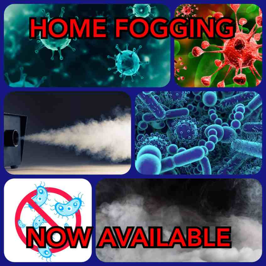 Clean the Virus Home Fogging Services working during Covid