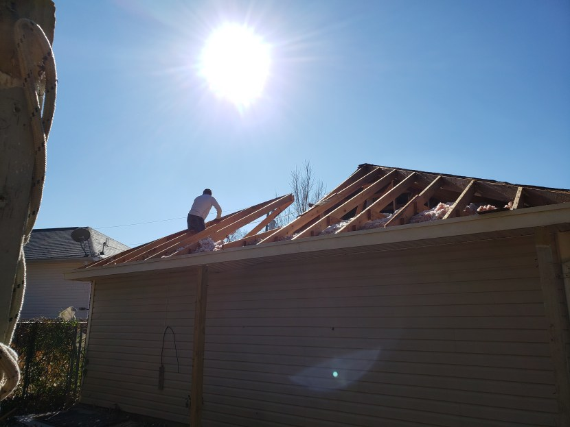 Insurance claim ms, rebuilding from storm damage ms, work performed by  M&M Construction Services LLC