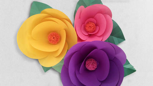 How to Make Paper Flowers  Step by Step with Robert Mahar How to Make Paper Flowers