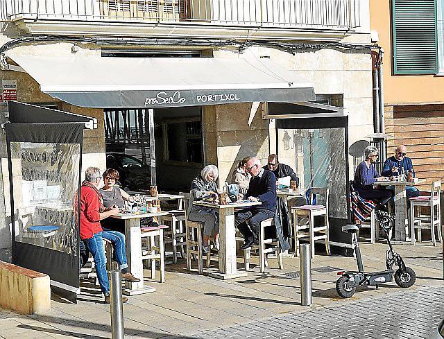 bar und cafes prosecco