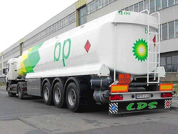 Cysterna do przewozu paliw ciekłych BP ABC.pl GNU