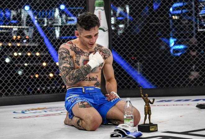 Dawid Pasternak kończy karierę! Podał powody: Z MMA na moim poziomie nie ma totalnie żadnych pieniędzy - MMA PL