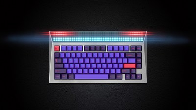 Angry Miao Releases CYBERBOARD, the World's First Mechanical Keyboard with Custom LED Panel on Indiegogo