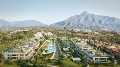 Master plan of EPIC Marbella, furnished by FENDI Casa